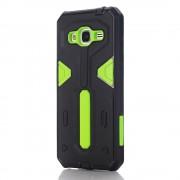 Samsung Galaxy J3 cover hybrid armor Mobiltelefon tilbehør grøn