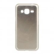 SAMSUNG GALAXY J3 cover TPU diamond grå Mobiltelefon tilbehør