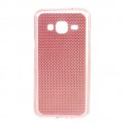 SAMSUNG GALAXY J3 cover TPU diamond pink Mobiltelefon tilbehør