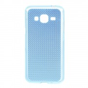 SAMSUNG GALAXY J3 cover TPU diamond blå Mobiltelefon tilbehør