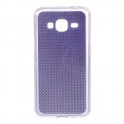 SAMSUNG GALAXY J3 cover TPU diamond lilla Mobiltelefon tilbehør