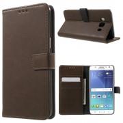 Vilo flip cover mørkebrun Samsung Galaxy J5 2016 Mobilcovers