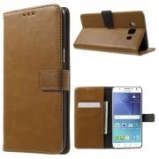 Vilo flip cover brun til Samsung Galaxy J5 2016 Mobilcovers
