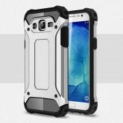 Samsung Galaxy J5 cover Armor guard Mobiltelefon tilbehør sølv