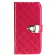 SAMSUNG GALAXY J3 cover pung blank rosa Mobiltelefon tilbehør