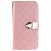 SAMSUNG GALAXY J3 cover pung blank pink Mobiltelefon tilbehør