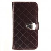 SAMSUNG GALAXY J3 cover pung blank mocca Mobiltelefon tilbehør