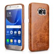 Samsung Galaxy S7 cover Icarer ægte læder Mobiltelefon tilbehør