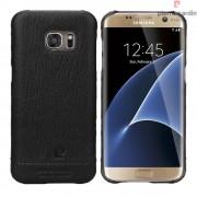 Samsung Galaxy S7 Edge cover Pierre Cardin design læder Mobiltelefon tilbehør