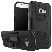 Samsung Galaxy A3 2017 sort cover allround armor Mobiltelefon tilbehør