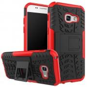 til Samsung Galaxy A3 2017 rød cover allround armor Mobiltelefon tilbehør Leveso.dk