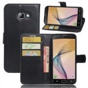 Samsung Galaxy A5 2017 sort omslag med lommer Mobiltelefon tilbehør