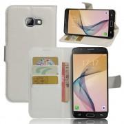 Samsung Galaxy A5 2017 hvid cover omslag med lommer Mobiltelefon tilbehør