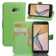 til Samsung Galaxy A5 2017 grøn praktisk omslag med lommer Mobiltelefon tilbehør