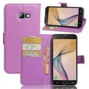 cover til Samsung Galaxy A5 2017 lilla omslag med lommer Mobiltelefon tilbehør