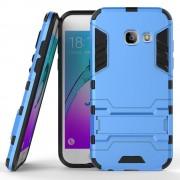 til Samsung Galaxy A3 2017 blå cover hybrid armor Leveso.dk Mobil tilbehør