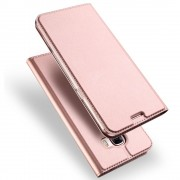 Samsung Galaxy A3 2017 cover slim læder rosa guld, Samsung cover hos leveso.dk