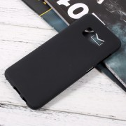 Galaxy S8 blød tpu cover sort Mobilcovers