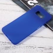 Galaxy S8 blød tpu cover blå Mobilcovers