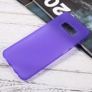 Galaxy S8 blød tpu cover lilla Mobilcovers