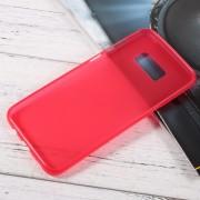 Samsung Galaxy S8 Plus cover i blød tpu rød mobilcovers