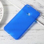 Huawei Honor 8 Lite cover blød tpu blå, find Huawei Honor 8 lite covers hos leveso.dk