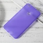 Huawei Honor 8 Lite cover blød tpu lilla, Køb Huawei Honor 8 lite covers hos leveso.dk