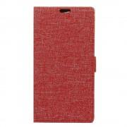 Til Samsung Galaxy S8 cover J-line rød med lommer pu læder, Leveso.dk Mobil tilbehør