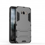 Defender cover grå Galaxy S8 Mobil tilbehør
