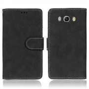 Samsung Galaxy J5 2016 flip cover vintage Mobilcover