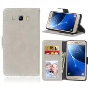 Samsung Galaxy J5 2016 flip cover vintage beige Mobilcover