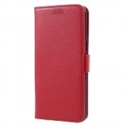 P-line flip cover rød til Samsung Galaxy S8, Samsung mobil tilbehør