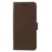 flip cover p-line brun til Samsung Galaxy S8, Samsung mobil tilbehør