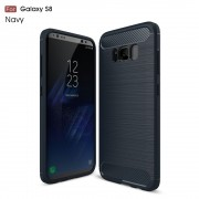 C-style armor cover blå Galaxy S8 Mobilcovers