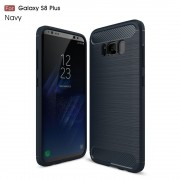 C-style armor cover blå Galaxy S8 plus Mobilcovers