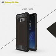Armor guard cover sort Galaxy S8 plus Mobilcovers