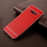 Samsung Galaxy S8 plus bagcover rød combi, Samsung Galaxy S8 plus covers