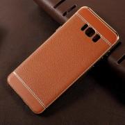 Samsung Galaxy S8 plus brun bag cover combi, Samsung Galaxy S8 plus covers