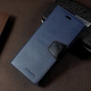 Flip cover mørkeblå til Samsung Galaxy S8 plus med lommer, Samsung covers