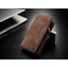 til Samsung Galaxy S8 plus luksus læder pung cover brun, Samsung covers