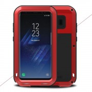 Samsung Galaxy S8 cover rød shockproof, dropproof dustproof, Galaxy S8 covers