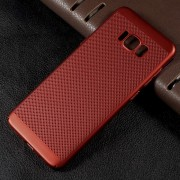 rød Hollow style cover Galaxy S8 plus Mobilcovers