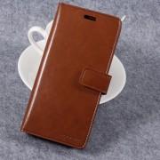 brun Læder pung cover til Samsung Galaxy S8 Mobil tilbehør