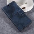 Samsung galaxy xcover 4 cover i vintage stil mørkeblå