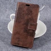 til Samsung galaxy xcover 4 brun cover i vintage stil, xcover 4 tilbehør