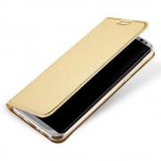 guld Slim flip etui Samsung S8 plus Mobil tilbehør