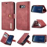 Samsung Galaxy S8 plus 2 i 1 cover pung rød, Samsung Mobil tilbehør