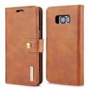 til Samsung Galaxy S8 plus brun 2 i 1 cover pung, Samsung Mobil tilbehør