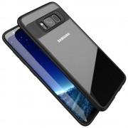 Slim combi cover sort Galaxy S8 plus Mobilcovers
