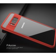 Slim combi cover rød Galaxy S8 plus Mobilcovers